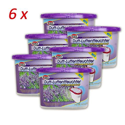 (709) 6er pack Duft Lavendel Raumentfeuchte Luftentfeuchter Luft Entfeuchter