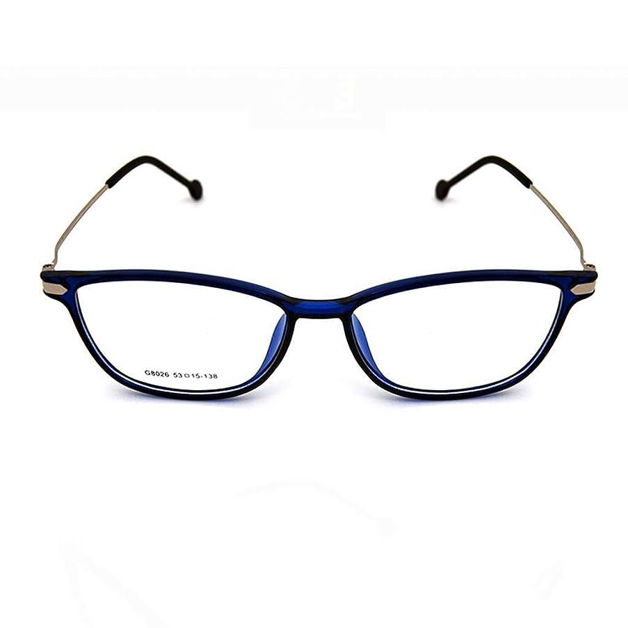 BMY Blue Light Blocking Glasses Safety Glasses for Computer/Phone Better Sleep [Anti Eye Fatigue] Unisex(Men/Women) (Color : Blue)