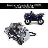 Piezas de carburador de repuesto EVGATSAUTO aptas para ATV Yamaha Big Bear YFM 350 2x4 4x4 1987-1996