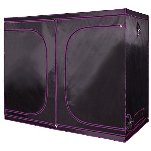 """Apollo Horticulture 96""""x48""""x80"""" Mylar Hydroponic Grow Tent"""