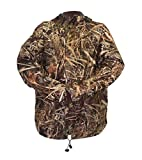 Wildfowler Outfitter Men's Waterproof Parka, Wild Grass, Large