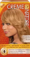 Creme of Nature, Coloración permanente (9.23 Light Golden Blonde) - 50 gr.