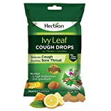 Herbion Naturals Cough Drops with Ivy Leaf, Thyme & Licorice Extracts – Oral Anesthetic - Relieves Cough - Soothes Sore Throat – Eases Bronchial Irritation