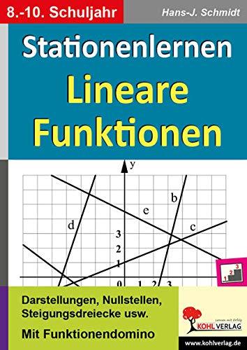 Lineare Funktionen: Lernen an Stationen (Stationenlernen)