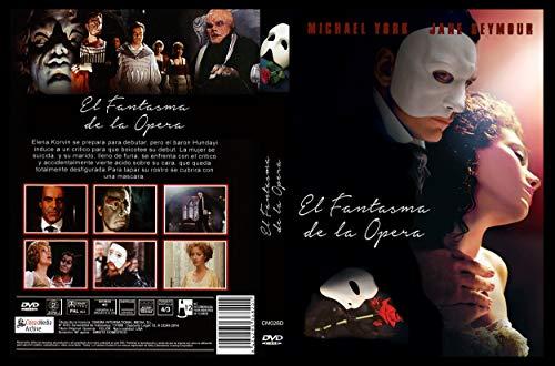 El fantasma de la ópera (The phantom of the opera) [DVD]
