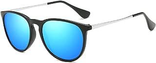 Aiweijia Unisex Fashion Classic Metal Plastic Frame Colorful Lens Sunglasses