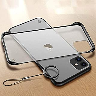 """Amozo iPhone 11 Cases and Covers   Frameless Series Matte Semi Transparent Ultra Slim Case Cover with Camera Protection for iPhone 11 (6.1"""")"""