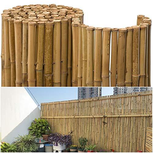 Pare-Vue pour Balcon Clôture en Bambou Écran Privé Protection Visuelle Coupe-Vent Peut Être Utilisé comme Mur Extérieur De Piscine, Aire De Jeux, Cour (Color : Wood Color, Size : 0.9x1m)