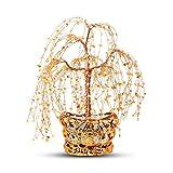 Crystal Money Trees Crystal Tree Lucky decoración del árbol de Feng Shui Decoración tienda de don apertura Protección don espiritual meditación Dinero de la suerte Decoración Árbol de cristal de diner