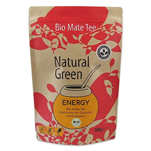 Delicatino Mate Tee- Energy DOYPACK, 1er Pack (1 x 500 g)