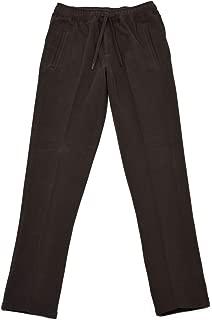 [CIRCOLO 1901【チルコロ】]ジャージーパンツ カシミヤタッチ 9CU200901 228 コットン ダークブラウン