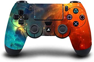 SKINOWN PS4 Controller Skin Cosmic Nebular Sticker Vinly Decal Cover for Sony PlayStation..