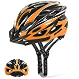 BIKEBOY Adult Bike Helmet, with Removable Visor, Lightweight and Breathable, 56-61 cm Adjustable Size Adult Cycling Helmets, for Mens Womens Mountain Cycling Helmet
