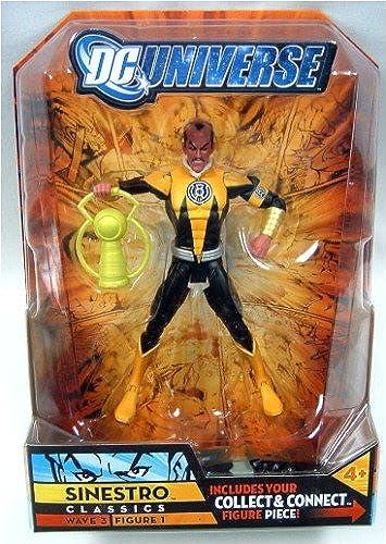 Dc Universe Classics Figure Sinestro schwarz Gelb Variant by DC