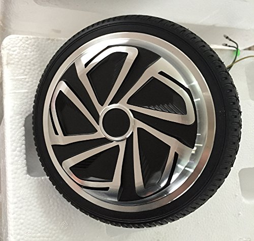 6.5 Inch Self Balancing Scooter Motor Wheel With Tire Electric Self Balance 2 Wheels Unicycle Hover Board Motor Replacement (C)