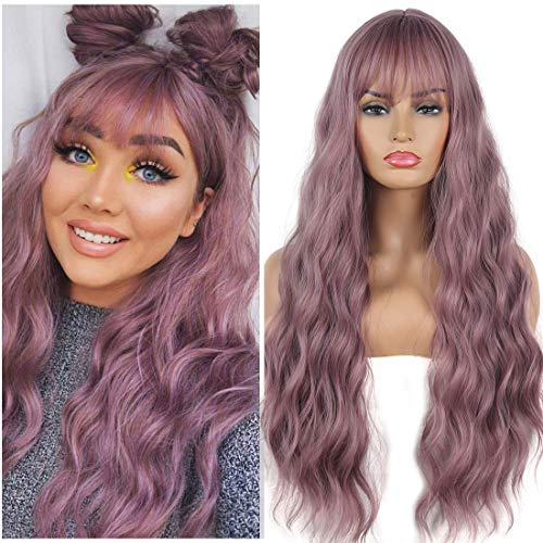 comprar pelucas purpura on-line