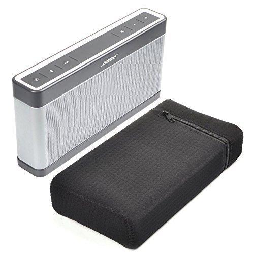 Bose SoundLink III Case - Lightweight & Slim Fit Water-Resistant Zipper Portable Carry Bag Travel Carrying Case for Bose SoundLink Bluetooth Speaker III