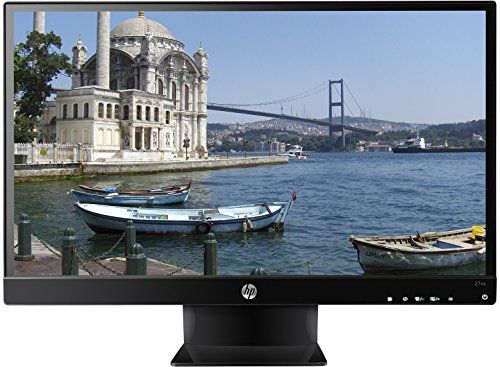 HP - 27 LED HD Monitor - Black 27vx