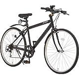 アルテージ(ALTAGE) 自転車 クロスバイク 26インチ シマノ製6段変速 ACR-001 マットブラック