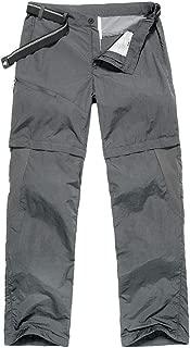 Men's Outdoor Quick-Dry Lightweight Waterproof Hiking Mountain Pants