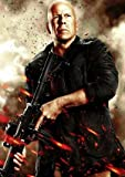 THE EXPENDABLES 2 - BRUCE WILLIS - US TEXTLESS – Imported