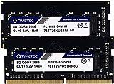 Timetec Hynix IC ノートPC用メモリ 16GB (2x8GB) DDR4 2666MHz PC4-21300 Single Rank 260 Pin SODIMM 永久保証 (16GB (2x8GB))