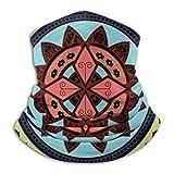 XCVD Mandala Drawing Art Ultimate Comfort Calentador de cuello Máscara facial Escudo Bandana súper protectora Diadema Gorro a prueba de viento Boca a prueba de polvo Mascarilla bufanda mágica
