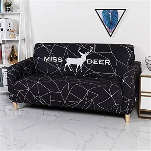 Sofa Cover Stretch Couch Abdeckungen Sofa Kissenbezug Sofa Abdeckung für Wohnzimmerkombination Sofa Dekoration Cover 1/2/3/4 Sitzer-28_1 Platz 90-140 cm