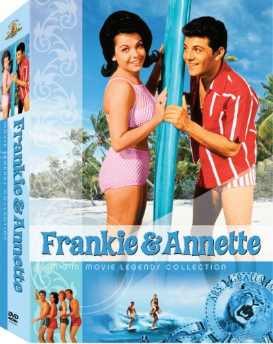 Frankie & Annette MGM Movie Legends Collection (Beach Blanket Bingo / How to Stuff a Wild Bikini / Beach Party / Bikini Beach /