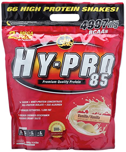 All Stars Hy-Pro 85 Protein, Vanille, 1er Pack (1 x 2000 g)