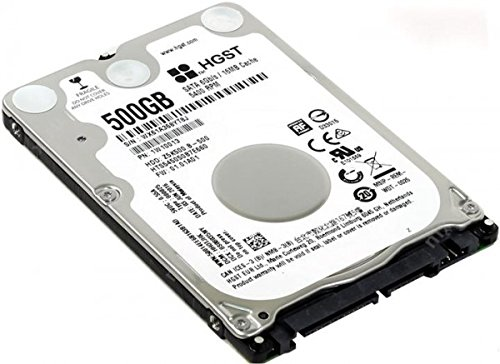 Hitachi (HGST 500GB 2,5 Pollici 5400rpm SATA3 (6Gbps) da 16 MB Hard Drive Cache, 7 Millimetri Sottile per Il Computer Portatile, PS3, PS4, telecamere a Circuito Chiuso, iMac, MacBook - 2