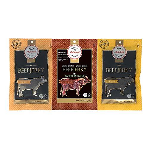 Aufschnitt Beef Jerky | Certified Glatt Kosher | Gluten...