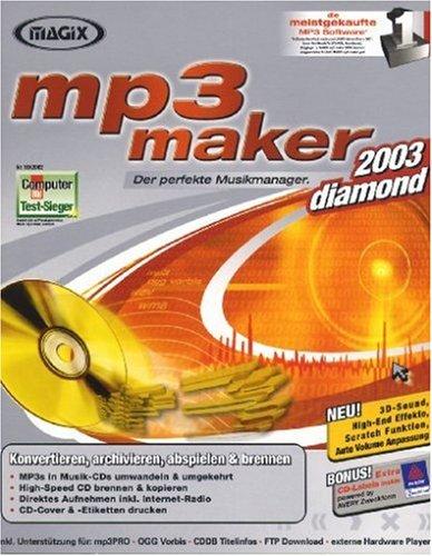 Preisvergleich Produktbild MAGIX mp3 maker diamond 2003