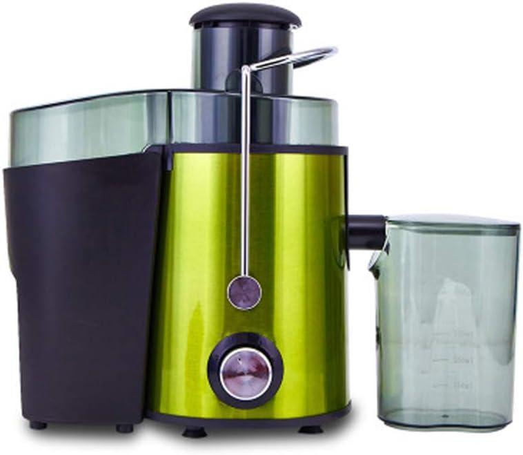 DKHF Juicer Presse-Agrumes Multifonctionnel, Machine à Fruits de Grande capacité, décharge de laitier et extracteur de jus sans Stainless Steel Colo