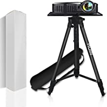 """Projector Stand,Laptop Stand,Aluminum Multifunction Tripod Stand with Tray Adjustable Tripod Laptop Projector Stand, 20"""" t..."""
