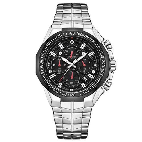 Relojes de Pulsera de los Hombres de Las Mejores Marcas Cronógrafo Dorado Relojes de Hombre Relojde Pulsera de Oro Grande para Hombre Caja de Hombre Relogio Masculino