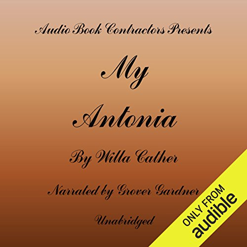 Couverture de My Antonia