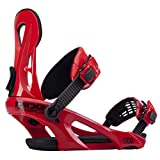 Ride LX Snowboard Binding Red, XL