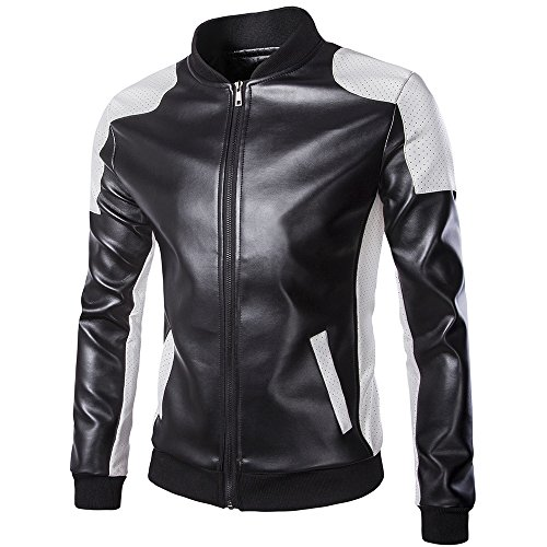 Mens Leather Jacket heren herfst warm motorfiets biker lederen jas man-winter-winddichte motorjas waterdichte buitenmantel moderne plus size top