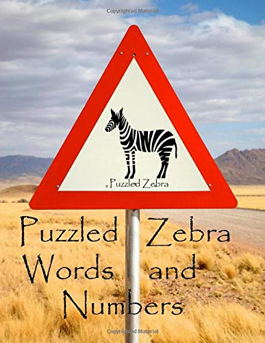 Puzzled Zebra Words and Numbers