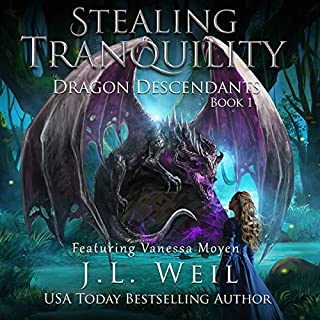 Dragon Descendants 1: Stealing Tranquility                   Written by:                                                                                                                                 J.L. Weil                               Narrated by:                                                                                                                                 Vanessa Moyen                      Length: 4 hrs and 52 mins     2 ratings     Overall 4.5