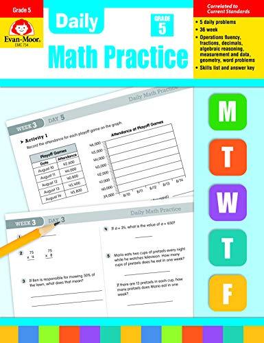 Daily Math Practice Grade 5