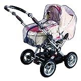 sunnybaby 10595 - Universal Regenverdeck, Regenschutz mit praktischem Reißverschluss für Kinderwagen, Babywanne, Soft-Tragetasche | Kontaktfenster für optimale Luftzirkulation | PREMIUM QUALITÄT