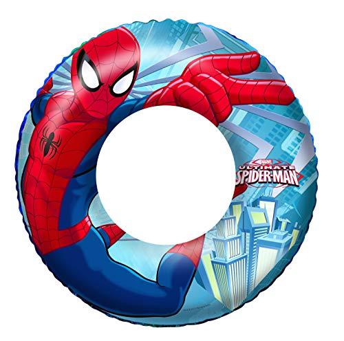 Bestway 98003 - Flotador Hinchable Infantil Spiderman 56 cm