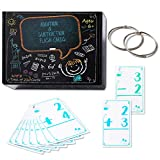 IONCAT Math Flash Cards, Addition and Subtraction Flash Cards for Kids, All Facts Self Checking Flashcards, Total 210 Cards with 2 Rings, Best for Kids in Preschool, Kindergarten, 1st & 2nd Grade