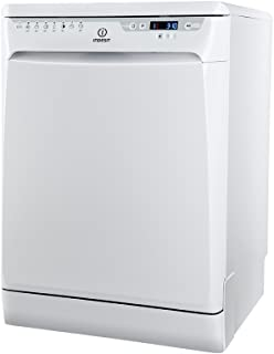 Indesit DFP 58B1 EU lavavajilla - Lavavajillas (Independiente, Color blanco, Botones, 49 Db, A, 190 min)
