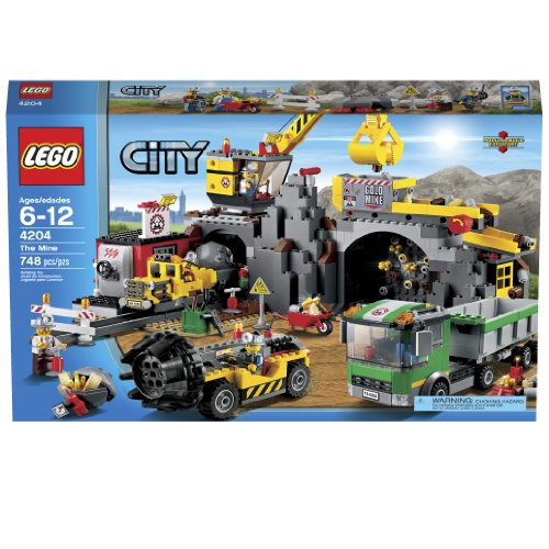 Lego City 4204 The Mine by LEGO (English Manual)