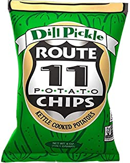 Route 11 various Potato Chips (Dill Pickle, 6oz (6 ct))