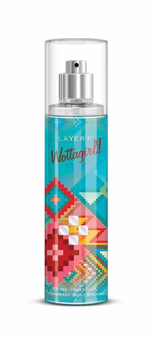所属床を掃除する混乱したLayer'r Wottagirl Perfume, Pure Paradise, 135ml