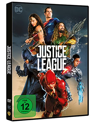 JUSTICE LEAGUE - MOVIE [DVD] [2017]
